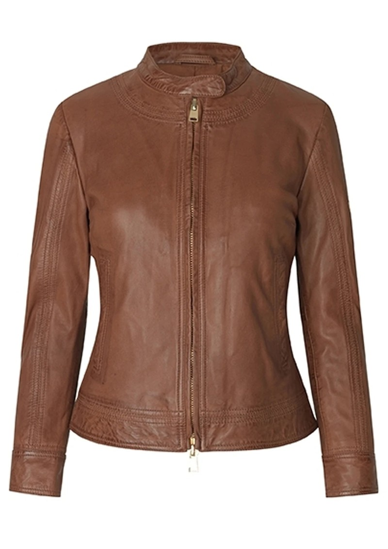 Day Baldizi Leather Jacket - Carmello main image
