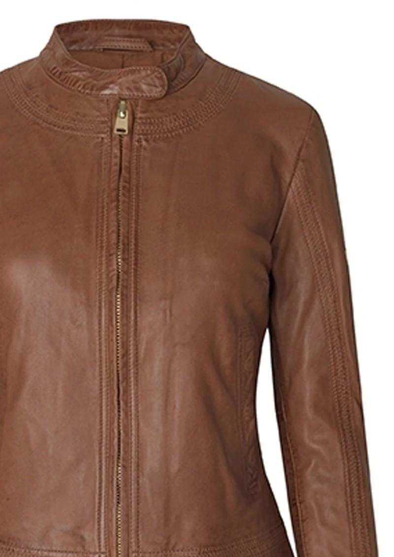 Day Birger et Mikkelsen  Day Baldizi Leather Jacket - Carmello main image