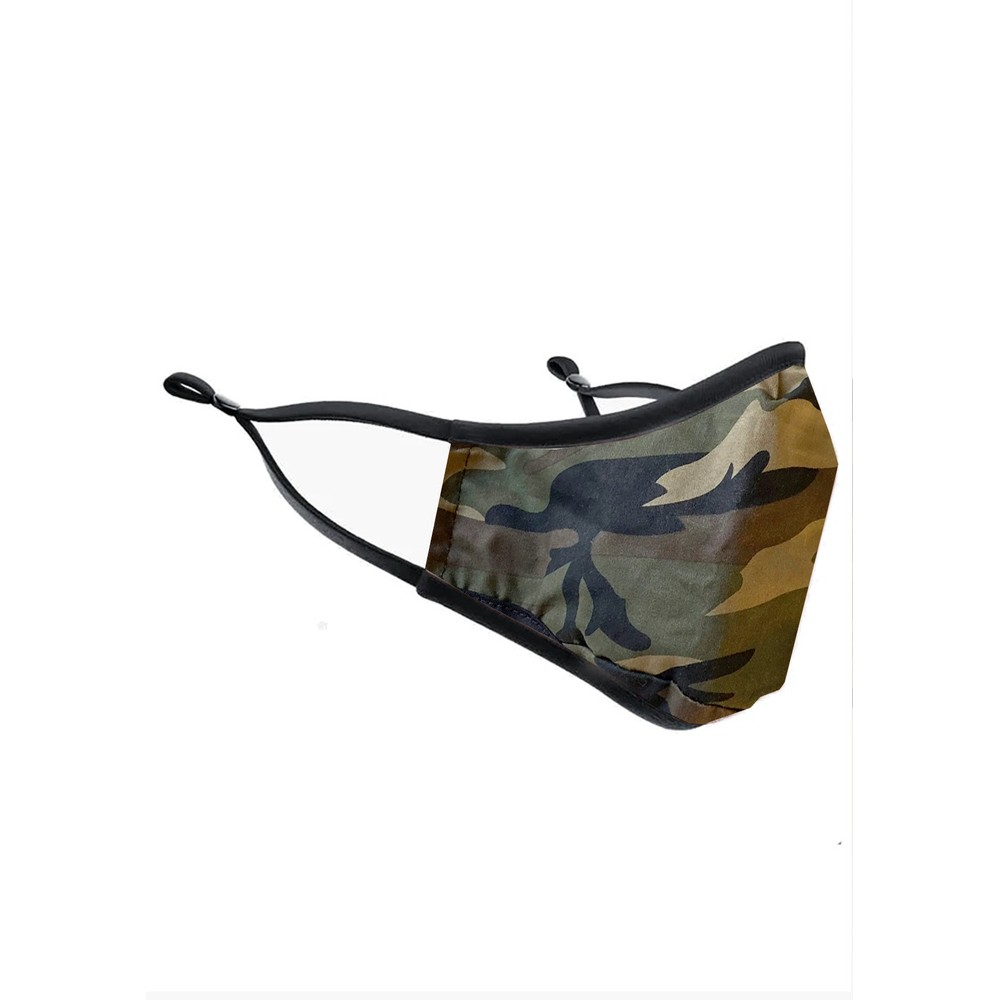 Adult Face Mask - Green Camo