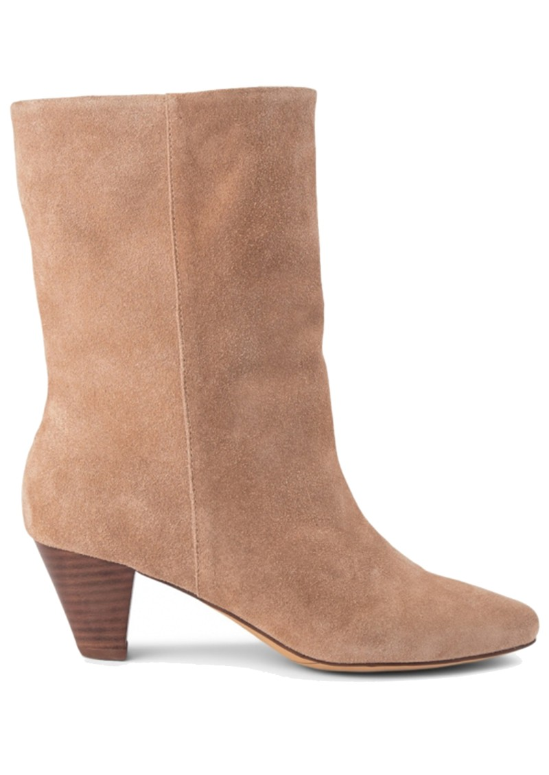 SHOE THE BEAR Gita Suede Boot - Taupe main image