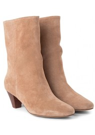 SHOE THE BEAR Gita Suede Boot - Taupe