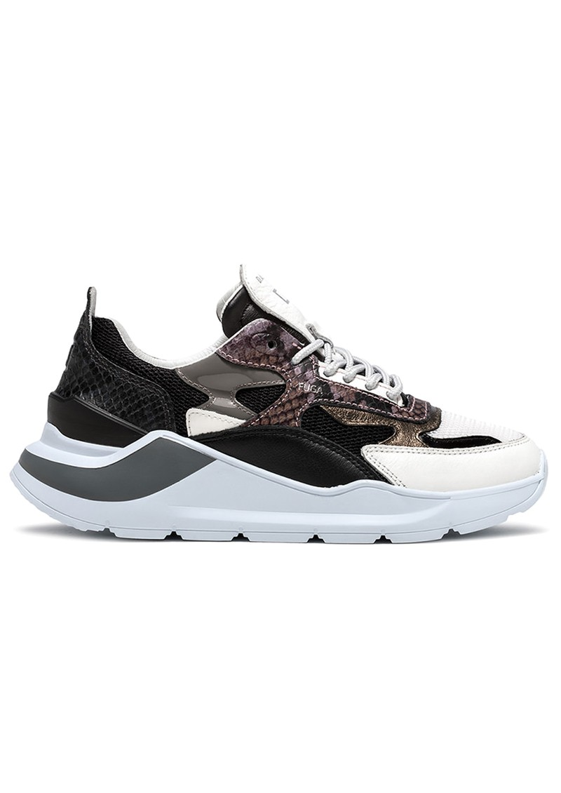 D.A.T.E Fuga Running Trainer - Python Black main image