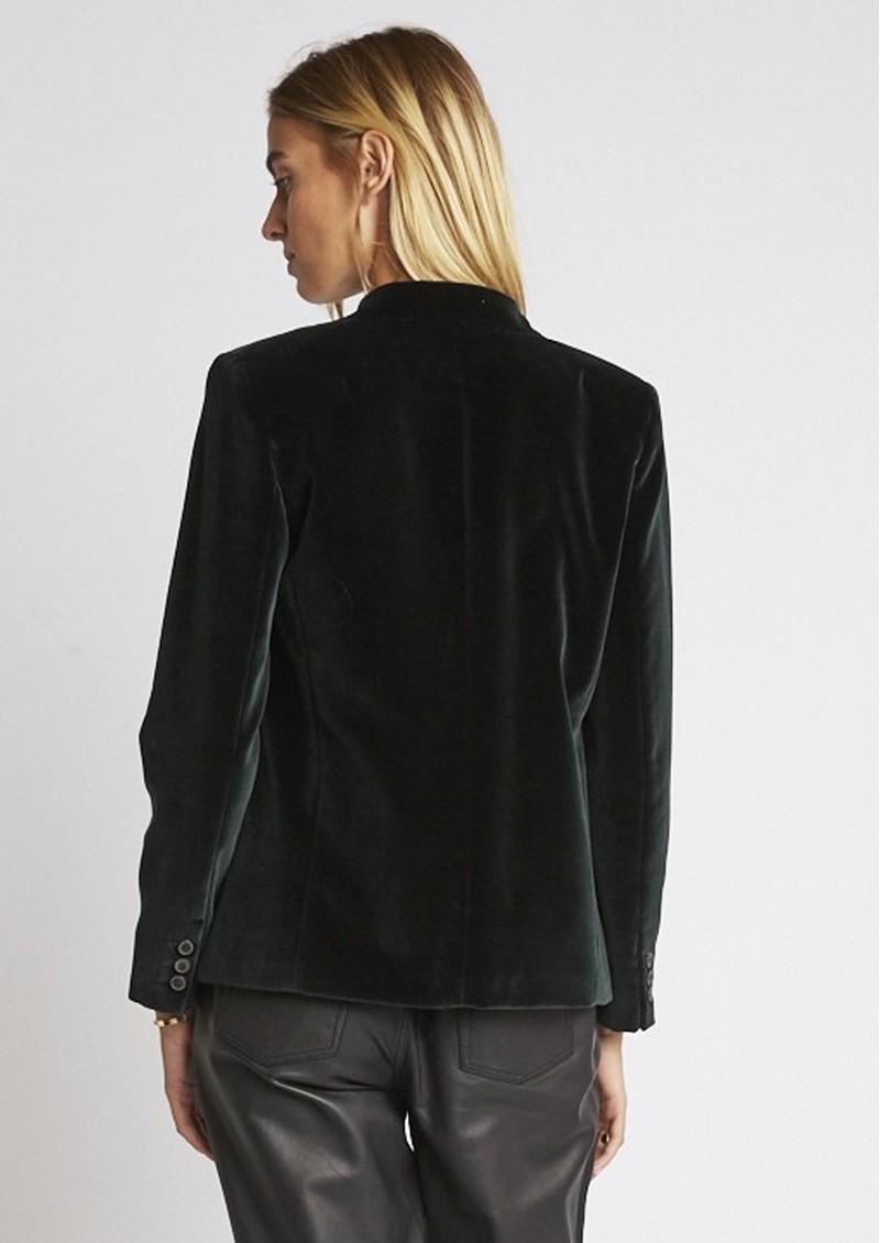 BERENICE Dalie Velvet Jacket - Forest main image