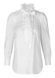 Day Birger et Mikkelsen  Day Kar Cotton Blouse - White Fog
