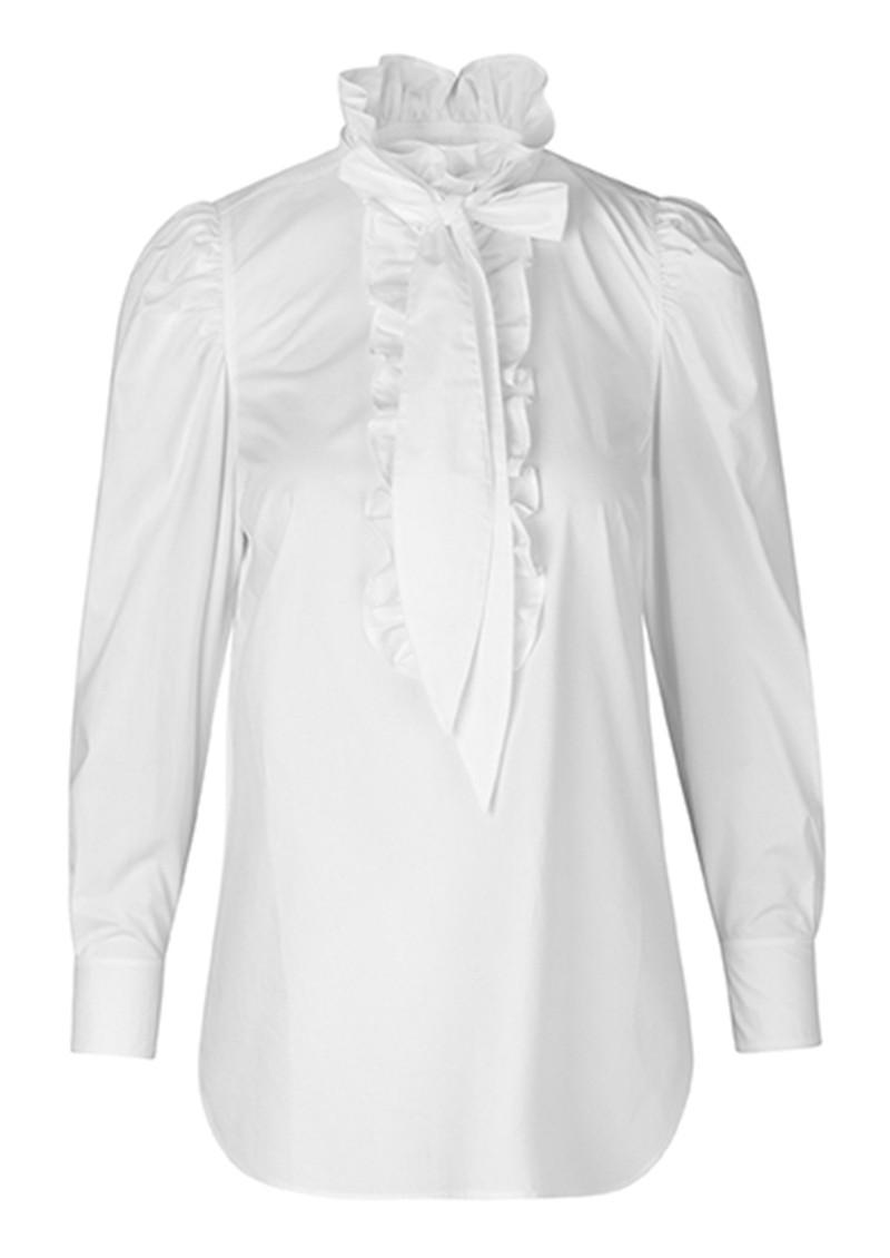 Day Birger et Mikkelsen  Day Kar Cotton Blouse - White Fog main image