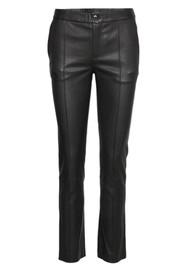 Day Birger et Mikkelsen  Day Doguna Leather Trousers - Black