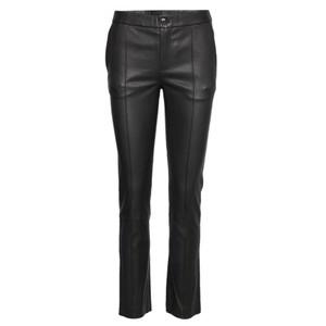 Day Doguna Leather Trousers - Black