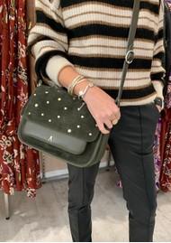 CRAIE Standard Stud Suede & Leather Bag - Caribou