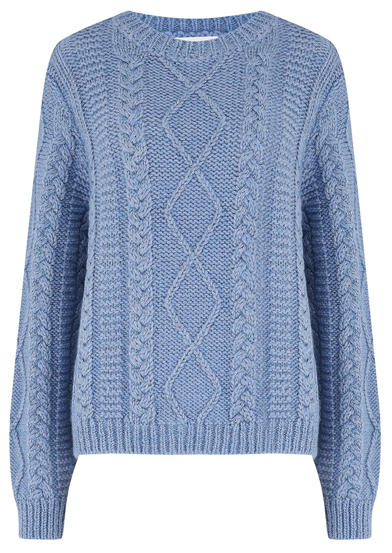 Lamireale Wool Mix Jumper - Givre main image