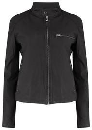 MDK Carli Thin Leather Jacket - Black