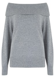 Paige Denim Izabella Wool Mix Jumper - Heather Grey