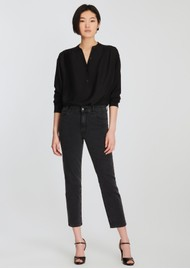 J Brand Alma High Rise Straight Leg Jean - Affect