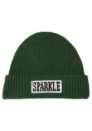 ESSENTIEL ANTWERP Wacap Knitted Beanie Hat - Palace Green