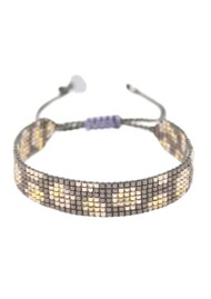 MISHKY Panthera Beaded Bracelet - Gunmetal