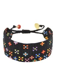 MISHKY Dotsy Flower Beaded Bracelet - Multi