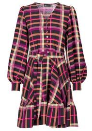 STINE GOYA Farrow Dress - Plaid