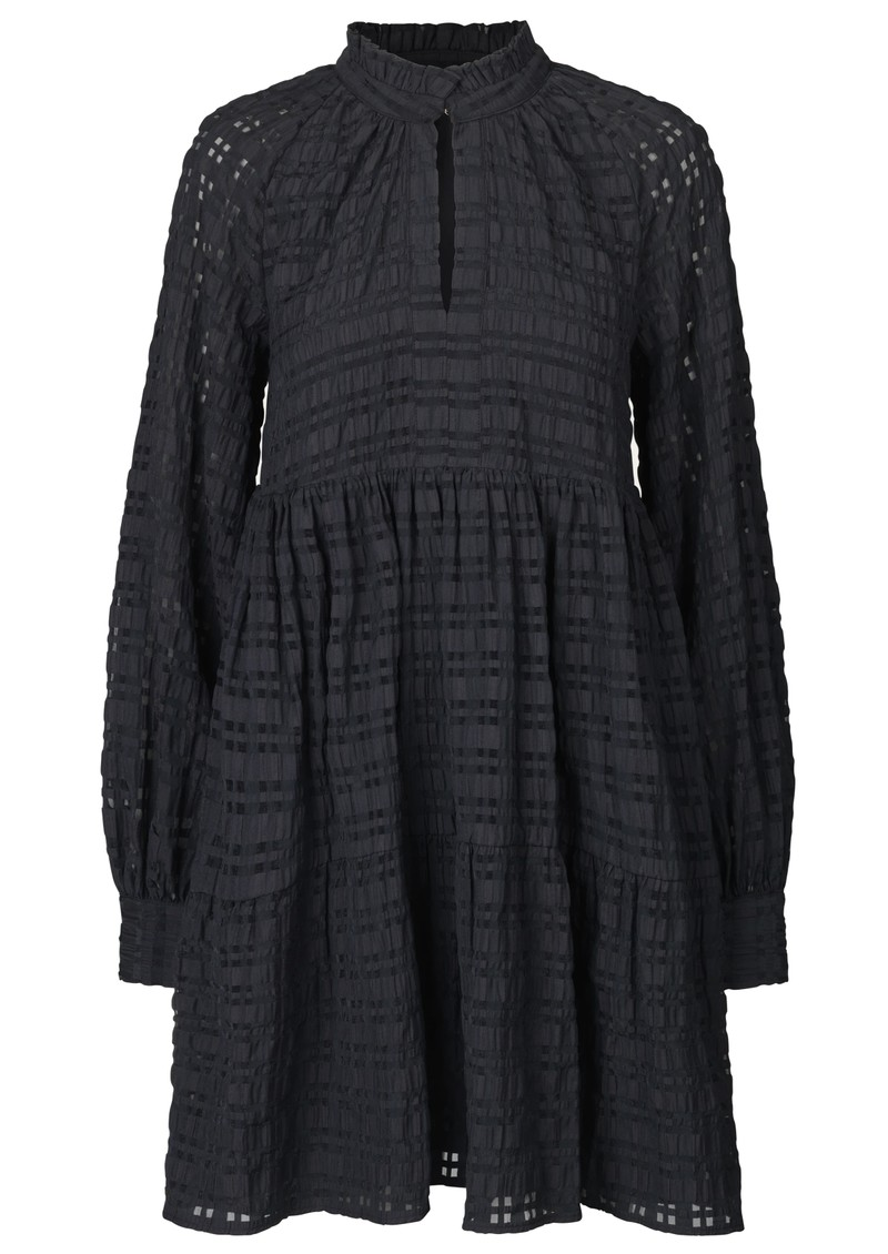 Jasmine Dress - Gingham Black main image