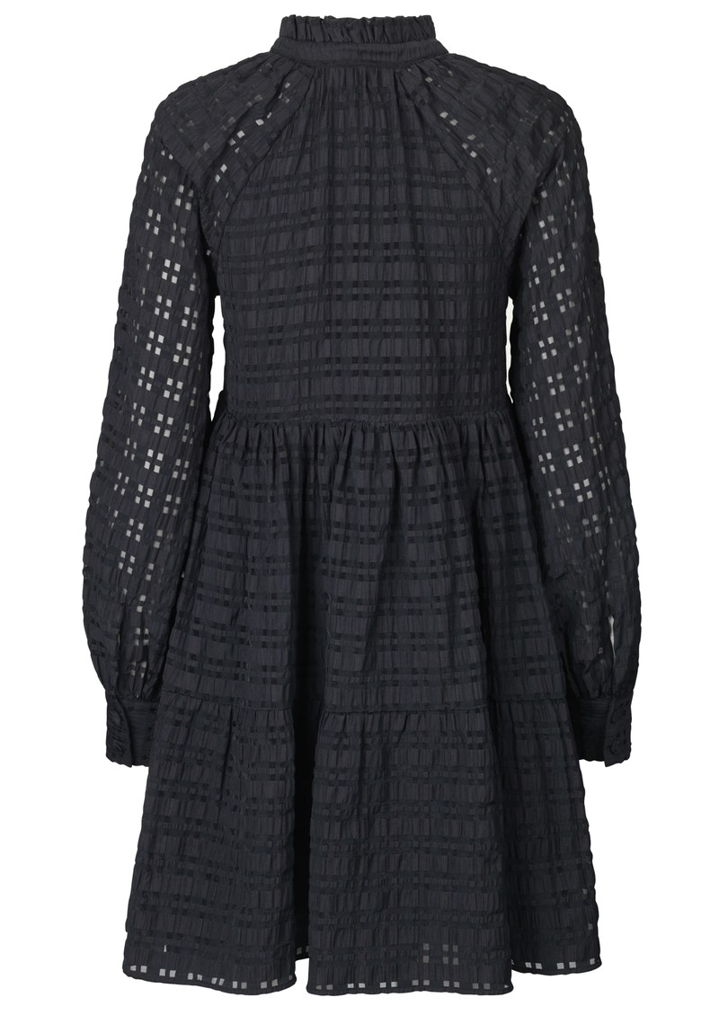 STINE GOYA Jasmine Dress - Gingham Black main image