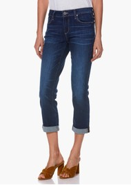 Paige Denim Brigitte High Rise Slim Fit Boyfriend Jeans - Enchant