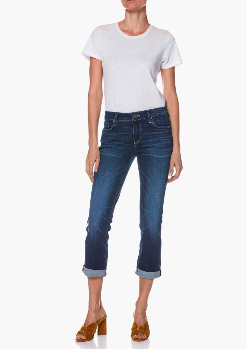 Paige Denim Brigitte Mid Rise Slim Fit Boyfriend Jeans - Enchant main image