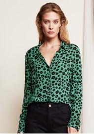 FABIENNE CHAPOT Lily Blouse - Garden Leopard Green