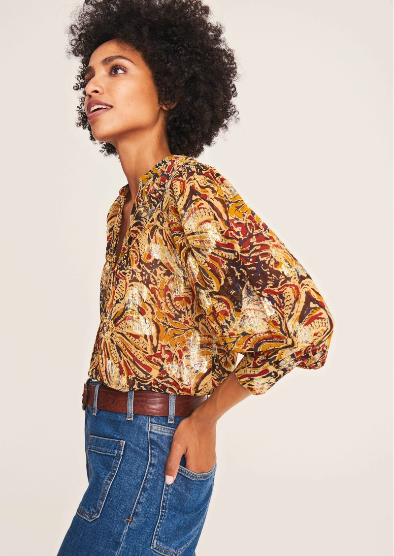 Ba&sh Quincy Blouse - Gold main image
