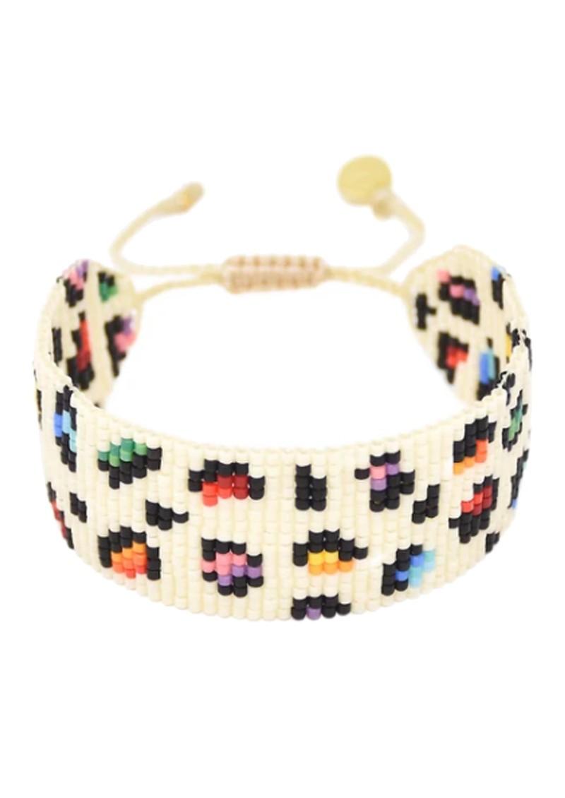 MISHKY Big Rainbow Panther Beaded Bracelet - Multi main image