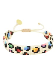 MISHKY Rainbow Panther Beaded Bracelet - Multi