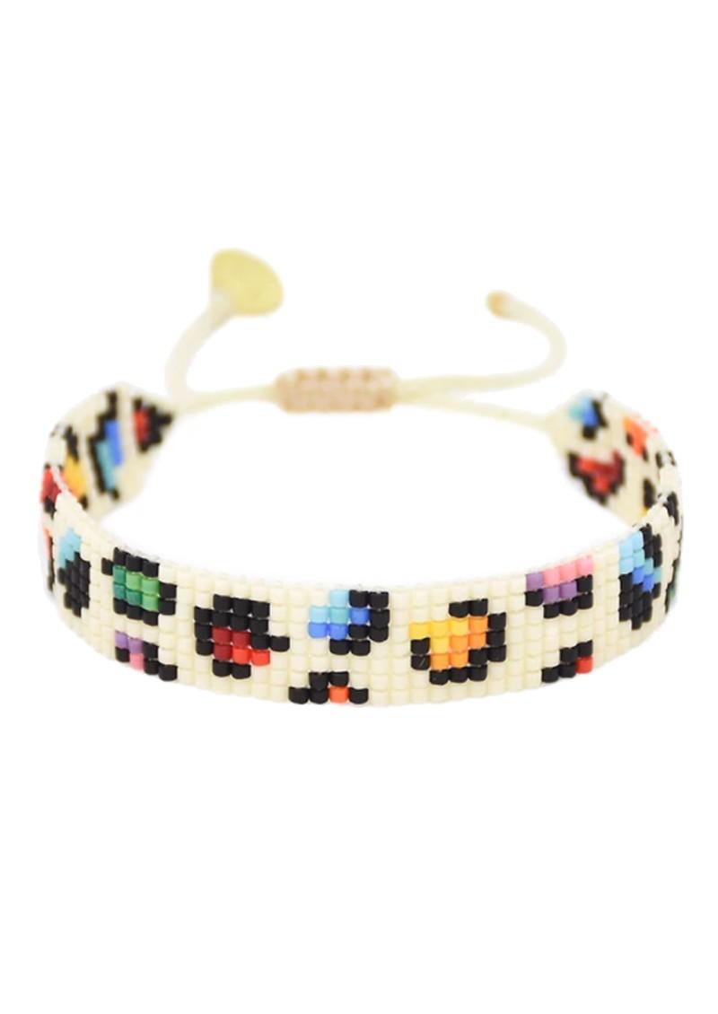 MISHKY Rainbow Panther Beaded Bracelet - Multi main image