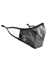 BREATHE Adult Face Mask - Grey Camo