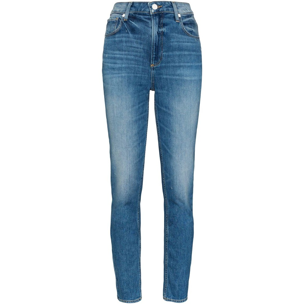 Sarah Slim High Rise Vintage Slim Leg Jeans - Roadhouse