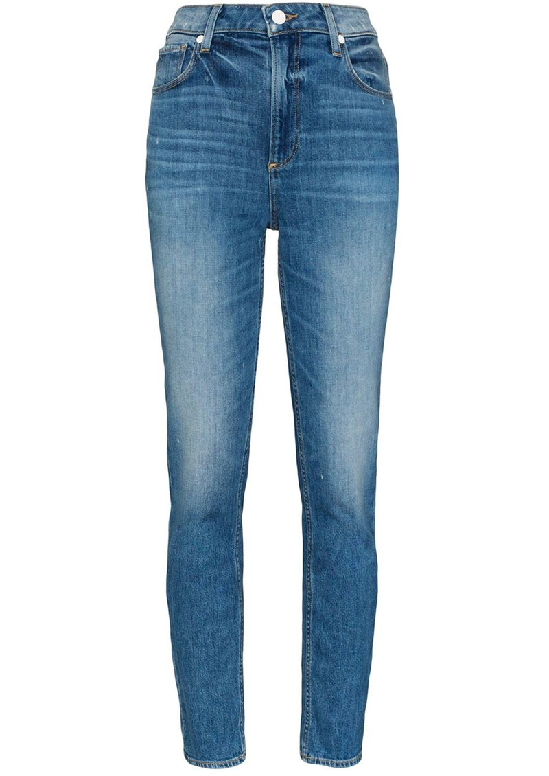 Paige Denim Sarah Slim High Rise Vintage Slim Leg Jeans - Roadhouse main image