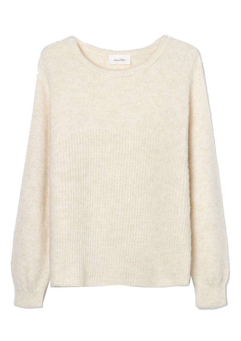 East Long Sleeve Jumper - Pearl Melange main image