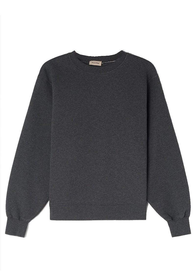 American Vintage Ibowie Organic Cotton Sweatshirt - Grey Melange main image