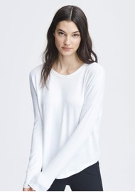 RAG & BONE The Knit Long Sleeve T-Shirt - White