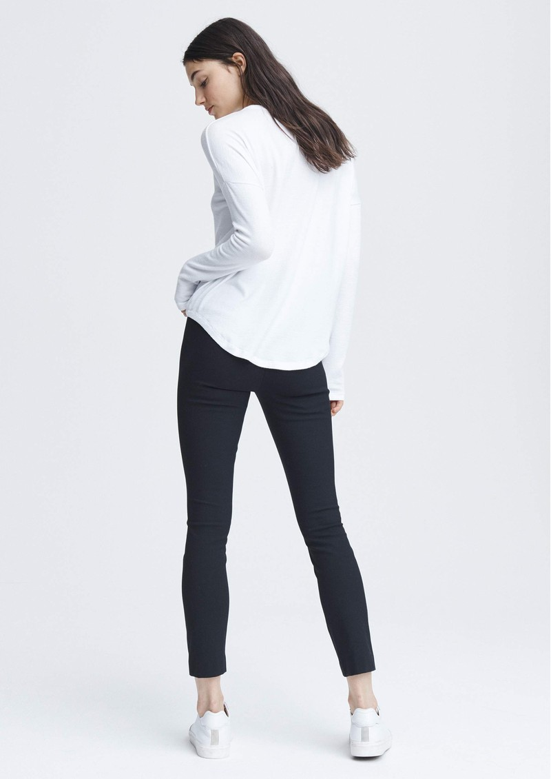 RAG & BONE The Knit Long Sleeve T-Shirt - White main image