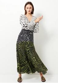 HAYLEY MENZIES Midaxi Silk Dress - Wings Mix