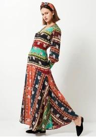 HAYLEY MENZIES Midaxi Silk Dress - Drifters