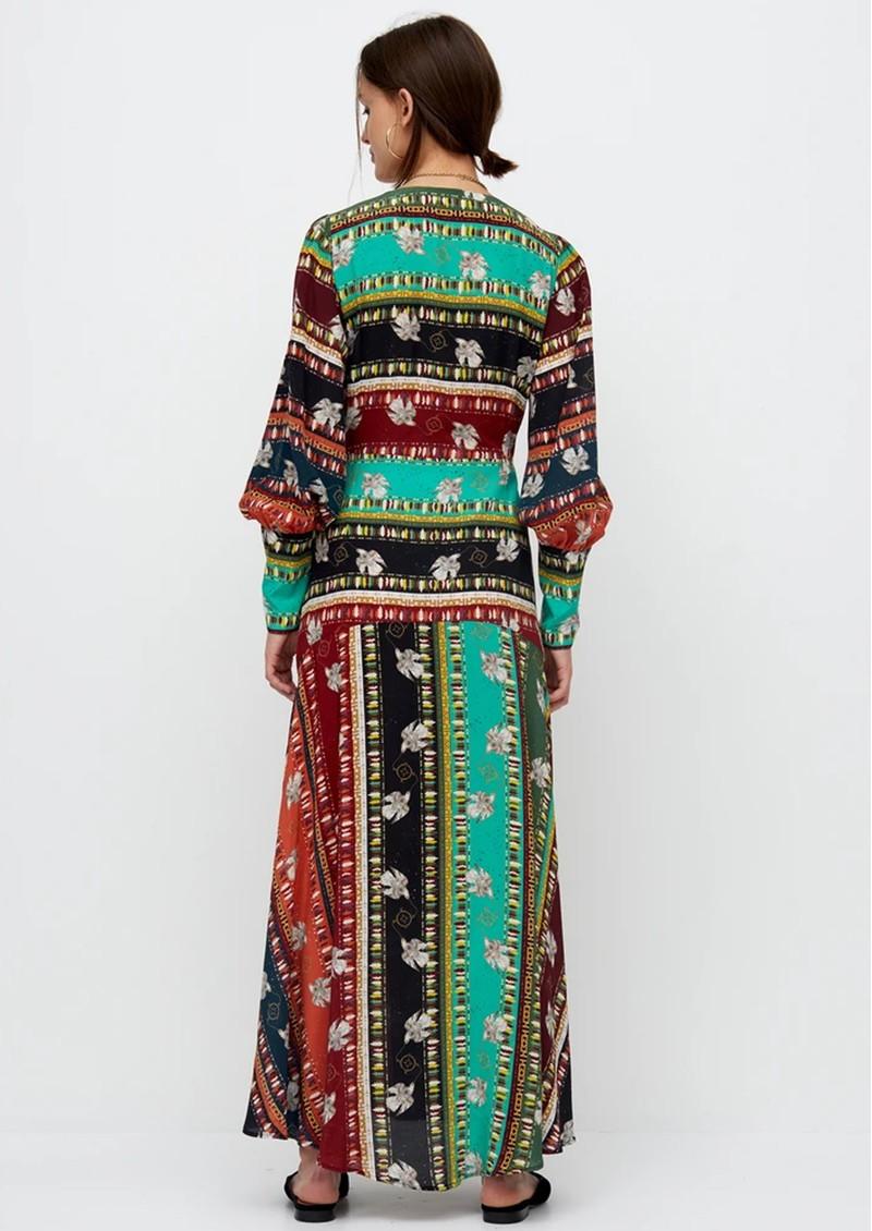 HAYLEY MENZIES Midaxi Silk Dress - Drifters main image