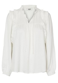 MOLIIN Pamela Blouse - Off White