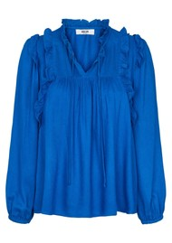 MOLIIN Pamela Blouse - True Blue