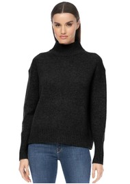 360 SWEATER Lyra Cashmere Turtleneck Jumper - Black