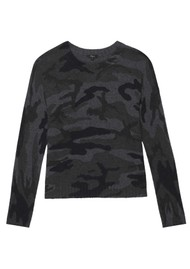 Rails Louie Jumper - Charcoal Camouflage