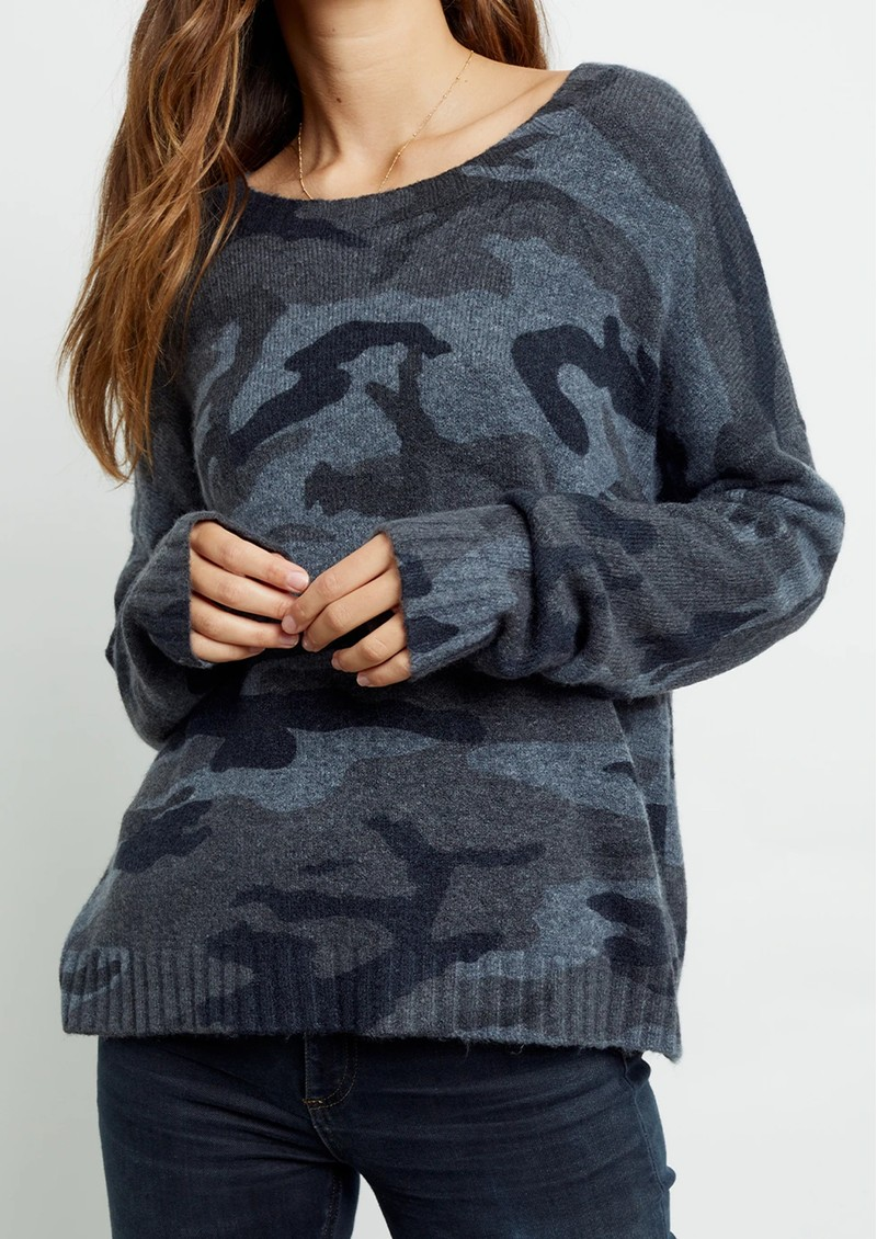 Rails Louie Jumper - Charcoal Camouflage main image