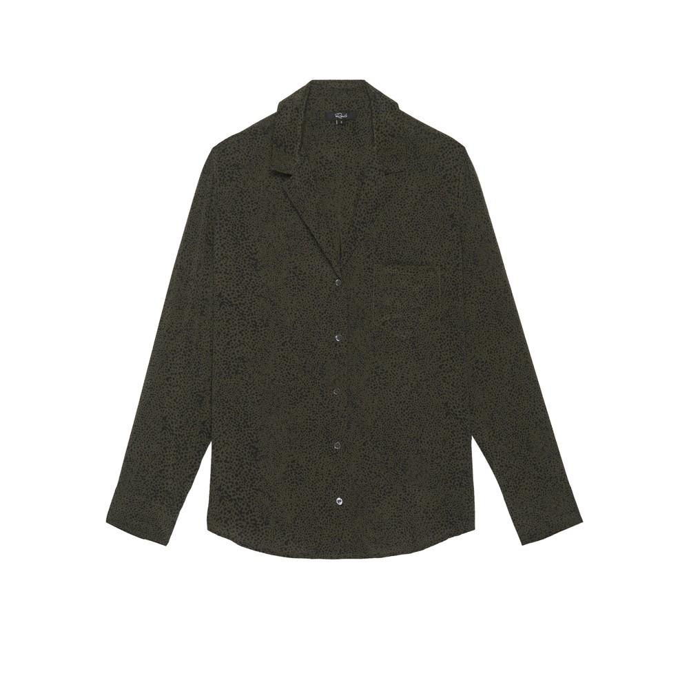 Rebel Shirt - Olive Speckled