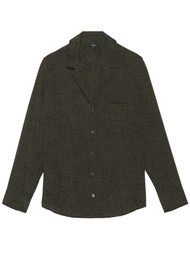 Rails Rebel Shirt - Olive Speckled
