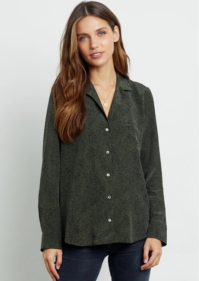 Rebel Shirt - Olive Speckled main image
