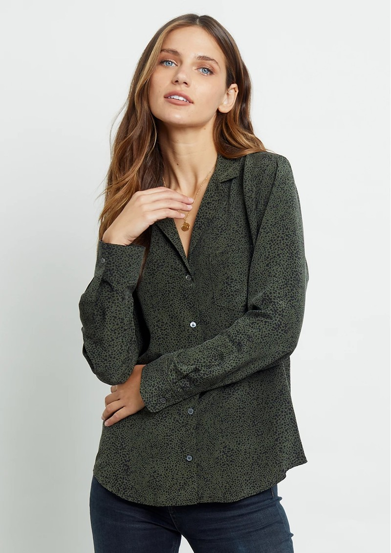 Rails Rebel Shirt - Olive Speckled main image