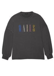 Rails Rails Signature Sweatshirt - Vintage Black