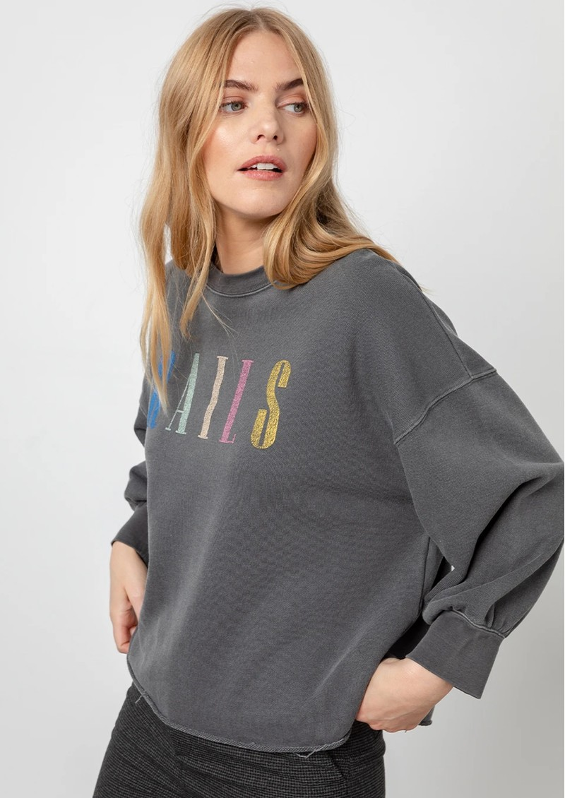 Rails Rails Signature Sweatshirt - Vintage Black main image